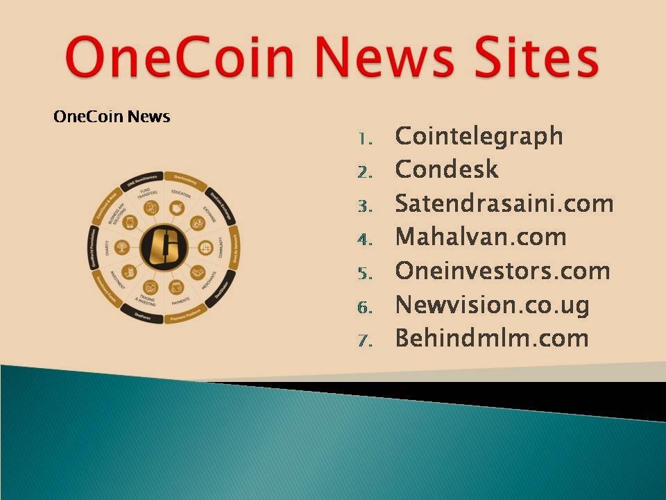 Top 10 Onecoin News Sites List 2019